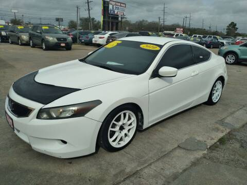 2010 Honda Accord for sale at Taylor Trading Co in Beaumont TX
