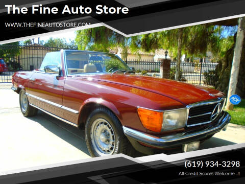 1981 Mercedes-Benz 380-Class for sale at The Fine Auto Store in Imperial Beach CA