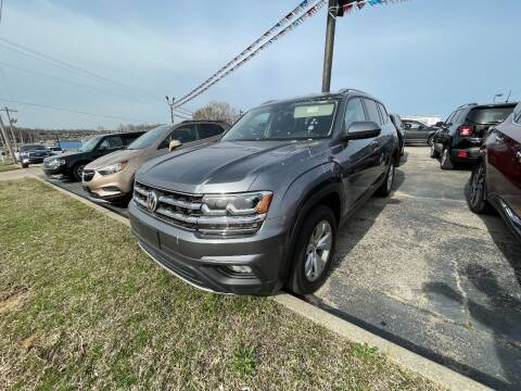 2018 Volkswagen Atlas for sale at Greg's Auto Sales in Poplar Bluff MO