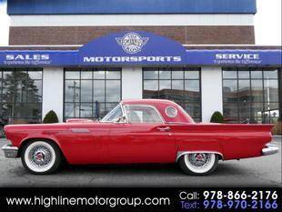 1957 Ford Thunderbird for sale at Highline Group Motorsports in Lowell MA