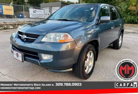 2003 Acura MDX for sale at MIDWEST MOTORSPORTS in Rock Island IL
