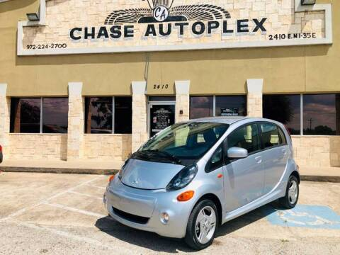 2016 Mitsubishi i-MiEV for sale at CHASE AUTOPLEX in Lancaster TX