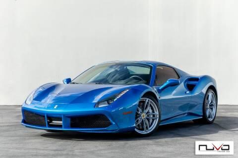 2017 Ferrari 488 Spider for sale at Nuvo Trade in Newport Beach CA