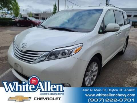 2016 Toyota Sienna for sale at WHITE-ALLEN CHEVROLET in Dayton OH
