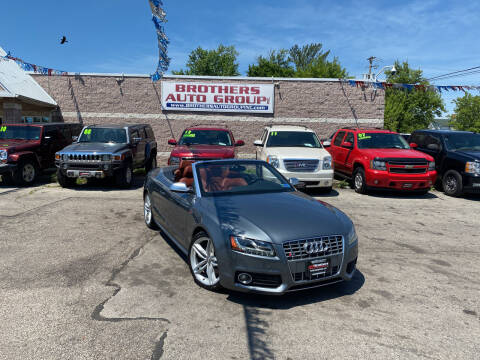 2012 Audi S5 for sale at Brothers Auto Group in Youngstown OH