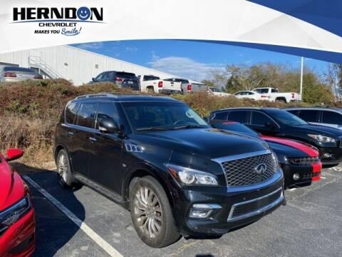 2015 Infiniti QX80 for sale at Herndon Chevrolet in Lexington SC