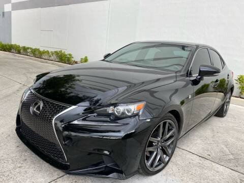 2015 Lexus IS 250 for sale at Auto Beast in Fort Lauderdale FL