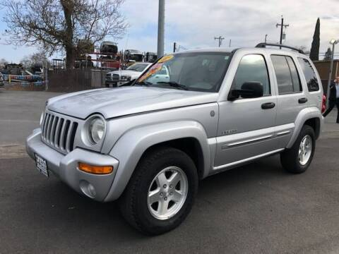 2004 Jeep Liberty for sale at C J Auto Sales in Riverbank CA