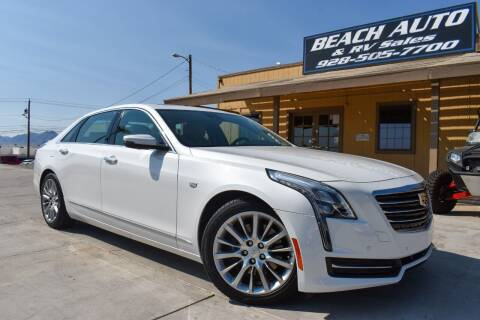 2017 Cadillac CT6 for sale at Beach Auto and RV Sales in Lake Havasu City AZ