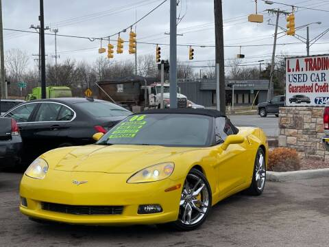 2006 Chevrolet Corvette for sale at L.A. Trading Co. Woodhaven in Woodhaven MI