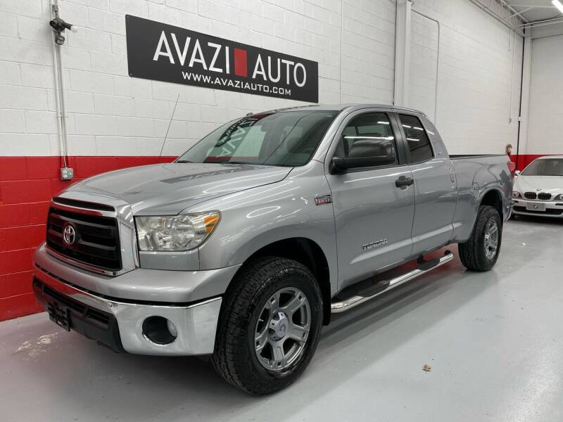 2010 Toyota Tundra for sale at AVAZI AUTO GROUP LLC in Gaithersburg MD