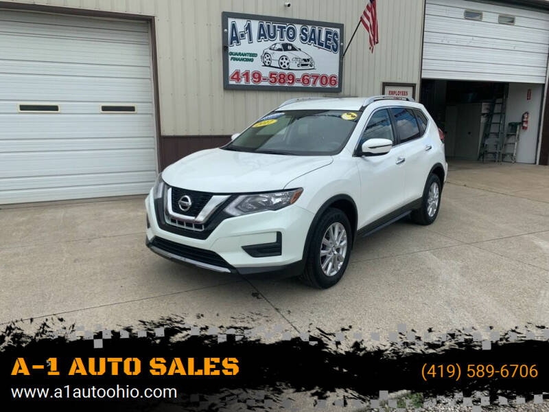 2017 Nissan Rogue for sale at A-1 AUTO SALES in Mansfield OH