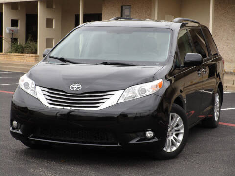 2015 Toyota Sienna for sale at Ritz Auto Group in Dallas TX