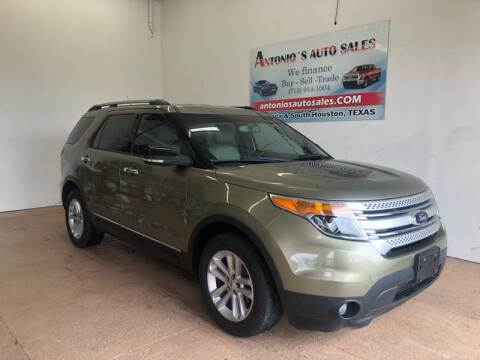 2013 Ford Explorer for sale at Antonio's Auto Sales - Antonio`s  3001 in Pasadena TX