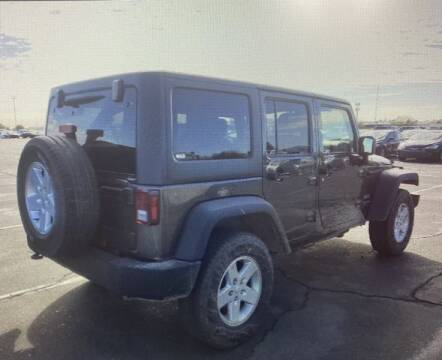 2018 Jeep Wrangler JK Unlimited for sale at DEL CORONADO MOTORS in Phoenix AZ