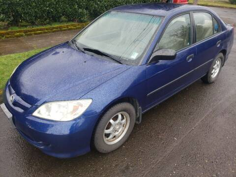 2004 Honda Civic for sale at KC Cars Inc. in Portland OR