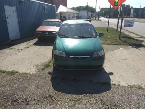 2004 Chevrolet Aveo for sale at New Start Motors LLC in Montezuma IN
