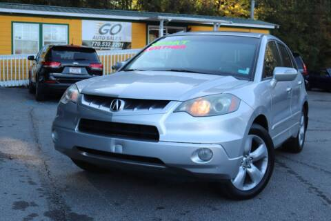 2007 Acura RDX for sale at Go Auto Sales in Gainesville GA