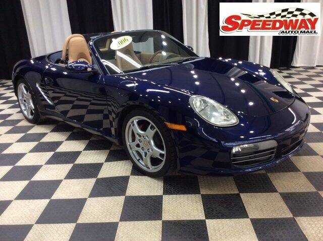 2006 Porsche Boxster for sale at SPEEDWAY AUTO MALL INC in Machesney Park IL