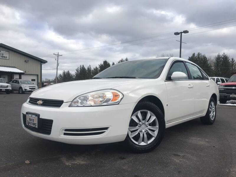 2008 Chevrolet Impala for sale at Lakes Area Auto Solutions in Baxter MN