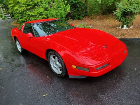 1996 Chevrolet Corvette for sale at MY USED VOLVO in Lakeville MA