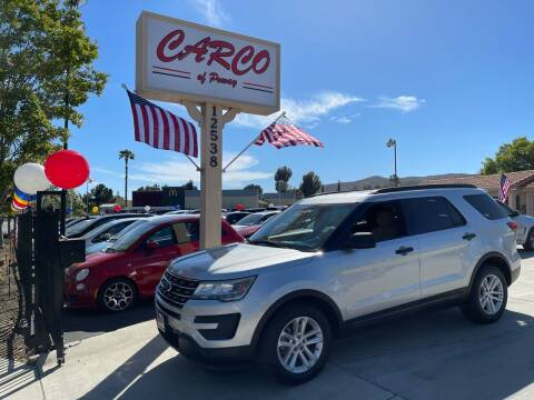 2016 Ford Explorer for sale at CARCO SALES & FINANCE - CARCO OF POWAY in Poway CA