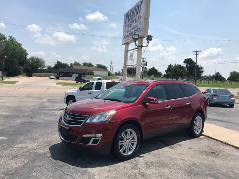 2014 Chevrolet Traverse for sale at Patriot Auto Sales in Lawton OK