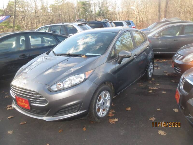 2014 Ford Fiesta for sale at D & F Classics in Eliot ME