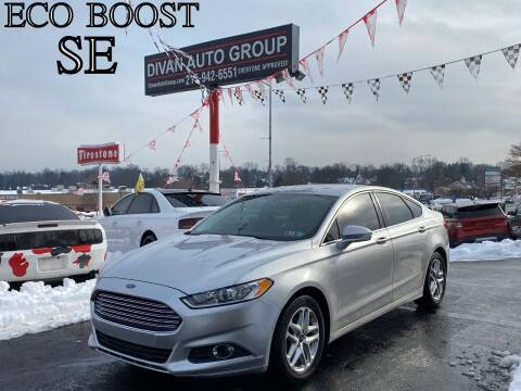 2014 Ford Fusion for sale at Divan Auto Group in Feasterville PA
