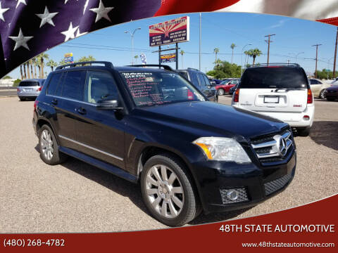 2010 Mercedes-Benz GLK for sale at 48TH STATE AUTOMOTIVE in Mesa AZ