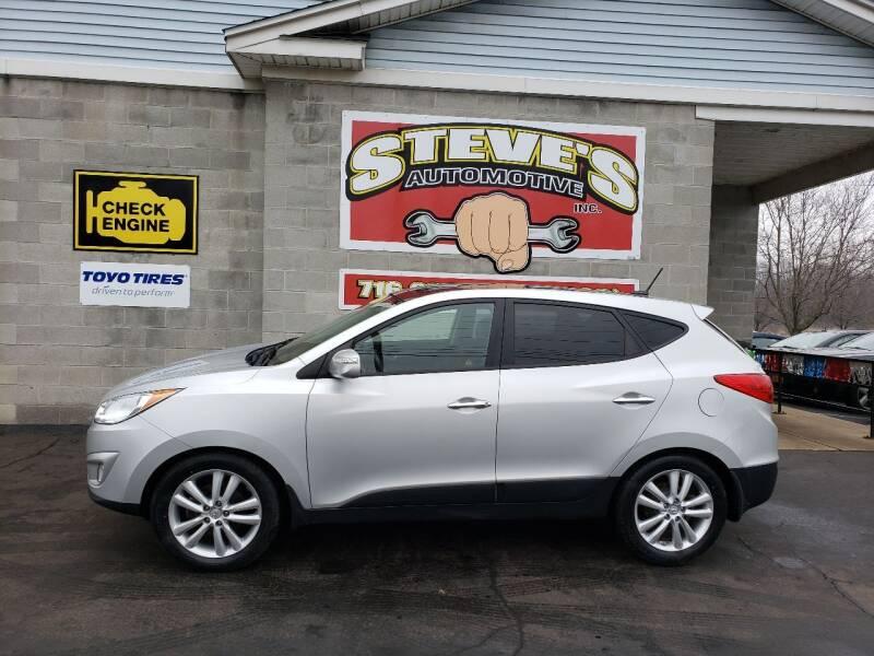 2011 Hyundai Tucson for sale at Steve's Automotive Inc. in Niagara Falls NY