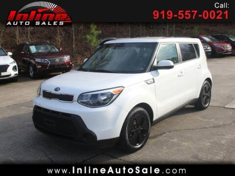 2016 Kia Soul for sale at Inline Auto Sales in Fuquay Varina NC