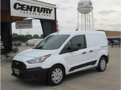 2020 Ford Transit Connect Cargo for sale at CENTURY TRUCKS & VANS in Grand Prairie TX
