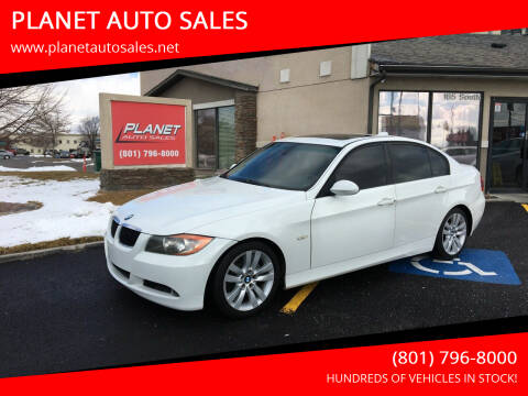 2007 BMW 3 Series for sale at PLANET AUTO SALES in Lindon UT