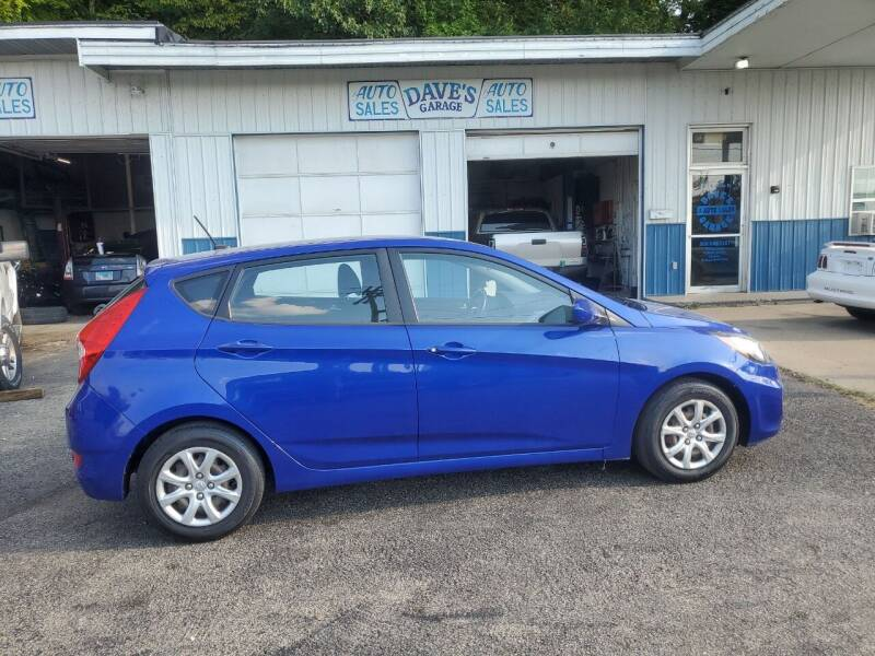 2014 Hyundai Accent for sale at Dave's Garage & Auto Sales in East Peoria IL
