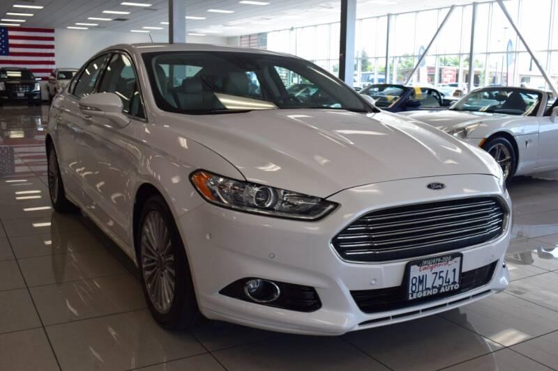 2015 Ford Fusion for sale at Legend Auto in Sacramento CA