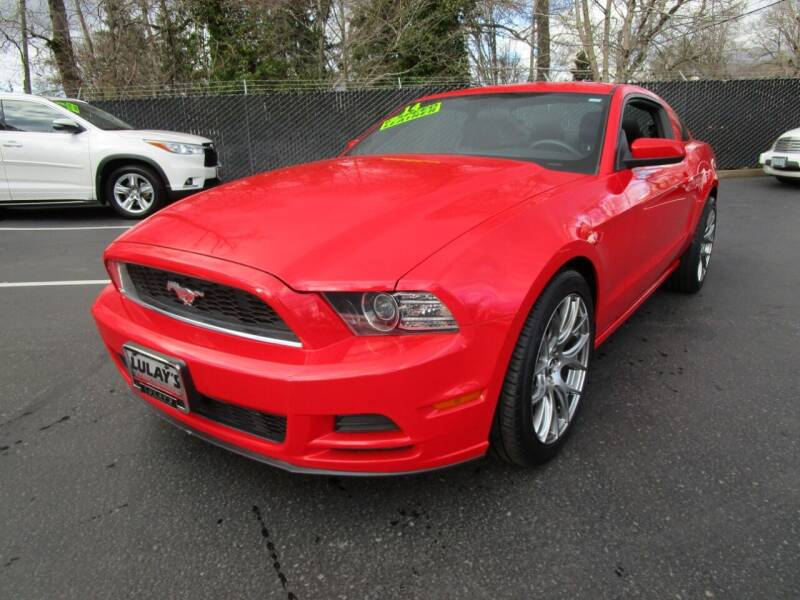 2014 Ford Mustang for sale at LULAY'S CAR CONNECTION in Salem OR