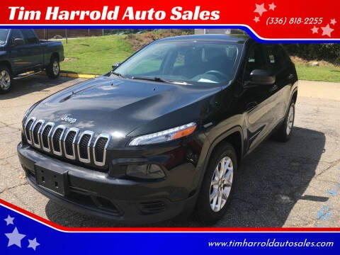 2014 Jeep Cherokee for sale at Tim Harrold Auto Sales in Wilkesboro NC