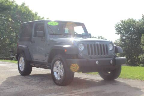 2014 Jeep Wrangler for sale at Harrison Auto Sales in Irwin PA
