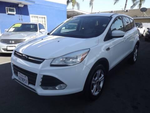 2013 Ford Escape for sale at PACIFICO AUTO SALES in Santa Ana CA