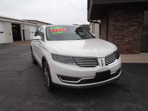 2016 Lincoln MKX for sale at Dietsch Sales & Svc Inc in Edgerton OH
