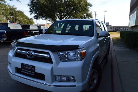 2012 Toyota 4Runner for sale at E-Auto Groups in Dallas TX