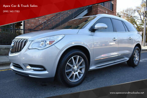 2015 Buick Enclave for sale at Apex Car & Truck Sales in Apex NC