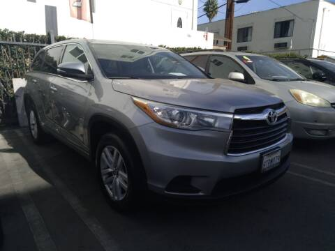 2016 Toyota Highlander for sale at Western Motors Inc in Los Angeles CA