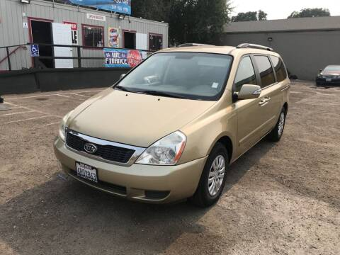 2011 Kia Sedona for sale at Golden Gate Auto Sales in Stockton CA