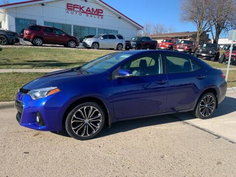2016 Toyota Corolla for sale at Efkamp Auto Sales LLC in Des Moines IA