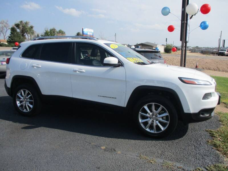 2014 Jeep Cherokee for sale at Advantage Auto Brokers Inc in Greeley CO