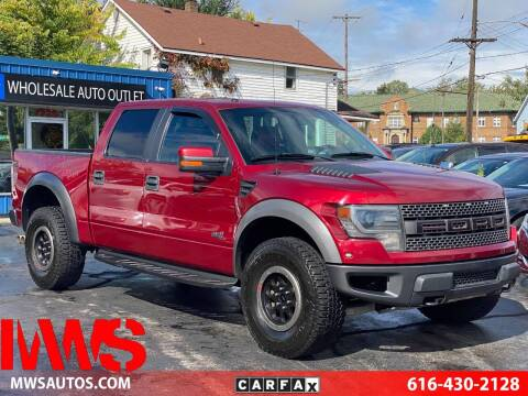 2014 Ford F-150 for sale at MWS Wholesale  Auto Outlet in Grand Rapids MI
