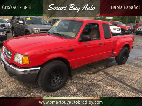 2002 Ford Ranger for sale at Smart Buy Auto in Bradley IL