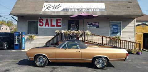 1970 Chevrolet El Camino for sale at Ritz Auto Sales, LLC in Paintsville KY